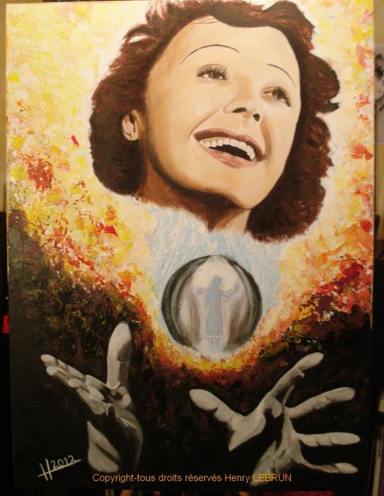 Edith Piaf by lhommeloiret